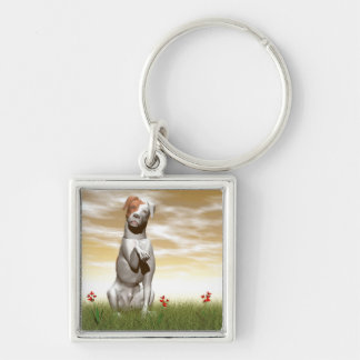Parsons dog keychain