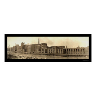 Parsons Paper Holyoke Photo 1909 Poster
