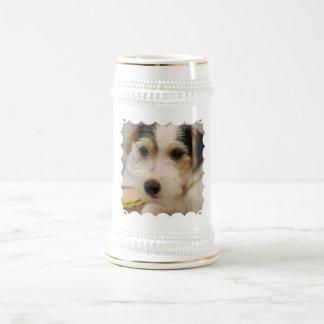 Parsons Terrier Beer Stein Mug