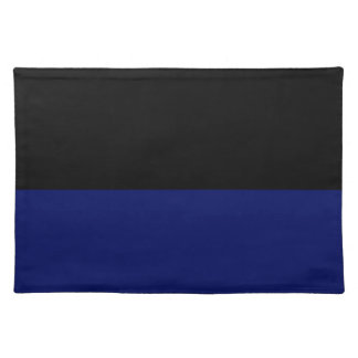 Part black part dark blue do it yourself DIY Cloth Placemat