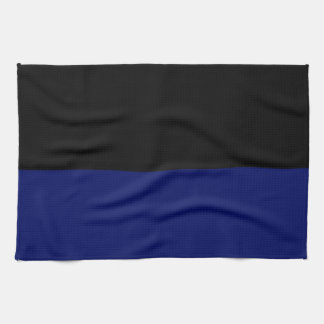 Part black part dark blue do it yourself DIY Hand Towels