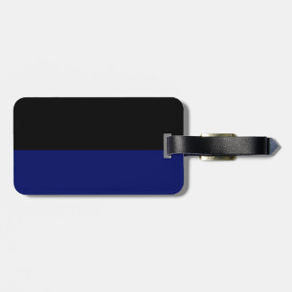 Part black part dark blue do it yourself DIY Luggage Tag