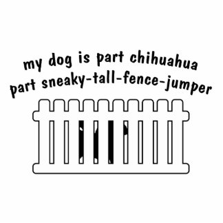 Part Chihuahua Part Fence-Jumper Photo Sculptures