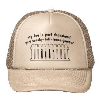 Part Dachshund Part Fence-Jumper Hats