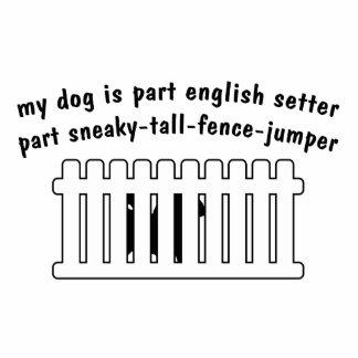 Part English Setter Part Fence-Jumper Photo Statuette
