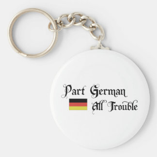 Part German All Trouble Key Chain