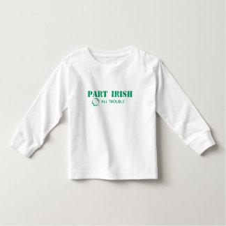 Part Irish All Trouble Toddler T-shirt