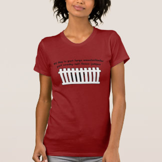 Part Large Munsterlander Part Fence-Jumper T-Shirt