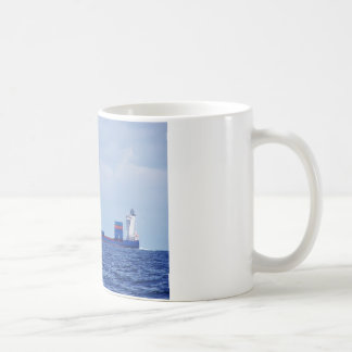 Part Loaded Container Ship Coffee Mug