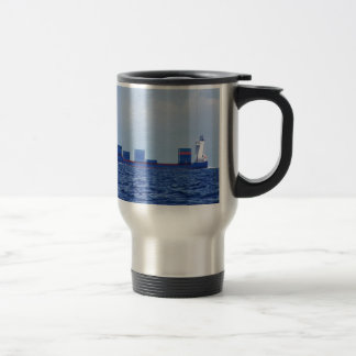 Part Loaded Container Ship Travel Mug