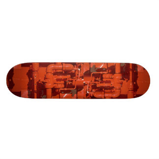 Part of a back-up emergency generator skateboard