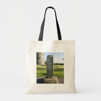 Part Of A High Cross On Plinth Looking Towards Rem Canvas Bag