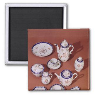 Part of a Worcester monogrammed tea service Magnets