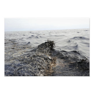 Part of an oil slick in the Gulf of Mexico Photo Print