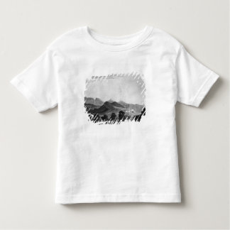 Part of British Army forming before Port Louis Toddler T-shirt