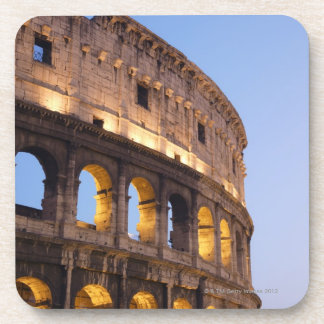 Part of Colosseum at dusk Drink Coaster