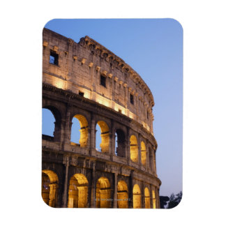 Part of Colosseum at dusk Magnet
