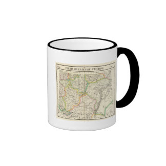 Part of European Russia 16 Ringer Coffee Mug