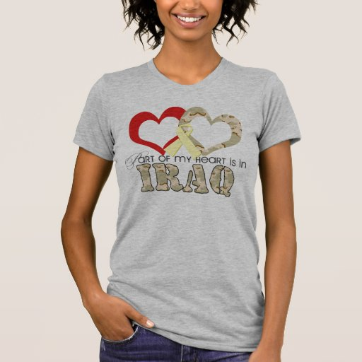 Part of my heart is in Iraq Shirt