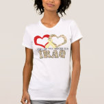 Part of my heart is in Iraq T-shirts