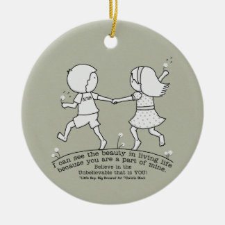 Part of My Life Ceramic Ornament