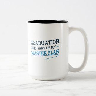 Part Of My Master Plan Two-Tone Coffee Mug