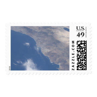 Part of southern California as seen from space Postage