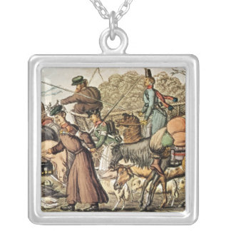 Part of the Allies Entering Paris Silver Plated Necklace