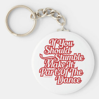 Part Of The Dance Keychain