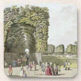 Part of the garden at Ausgarten, Vienna, from 'Ple Drink Coaster