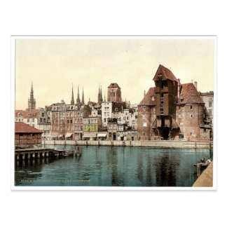 Part of the Kranthor Danzig West Prussia German Post Cards