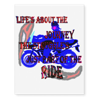 Part of the Ride Temporary Tattoos