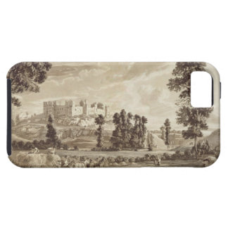 Part of the Town and Castle of Ludlow in Shropshir iPhone 5 Case