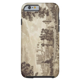Part of the Town and Castle of Ludlow in Shropshir iPhone 6 Case