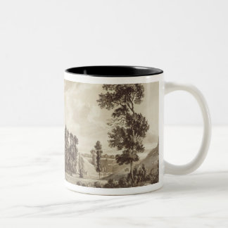 Part of the Town and Castle of Ludlow in Shropshir Mug