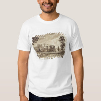 Part of the Town and Castle of Ludlow in Shropshir T Shirt