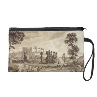 Part of the Town and Castle of Ludlow in Shropshir Wristlet