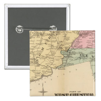 Part of West Chester County, New York Pinback Button