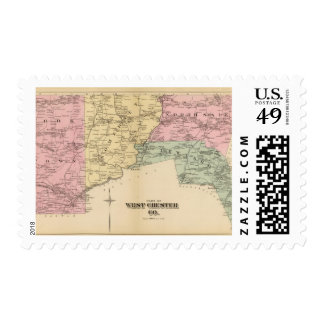 Part of West Chester County, New York Postage