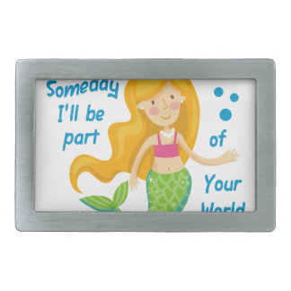 Part Of Your World Belt Buckle