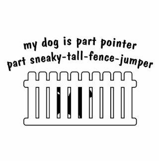Part Pointer Part Fence-Jumper Cutout