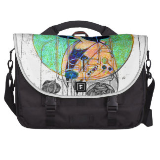 Part Seen - Part Imagined by Charles R. Mackintosh Bag For Laptop