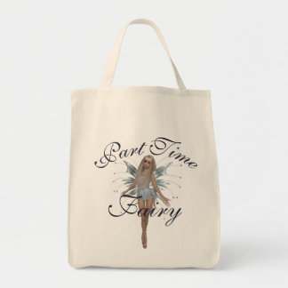 Part Time Fairy Tote Bag