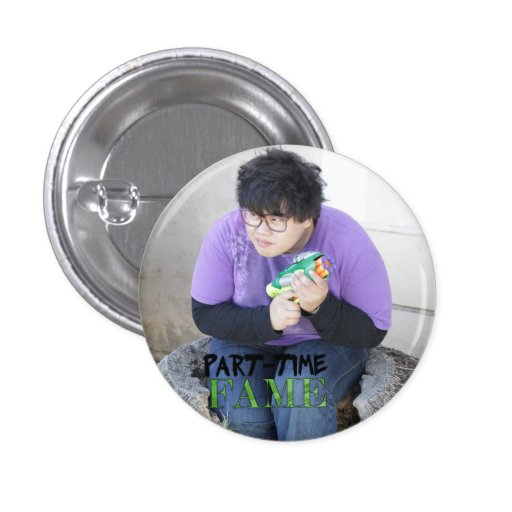 Part-Time Fame's Pat tiny button