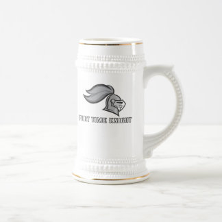 Part Time Knight Beer Stein