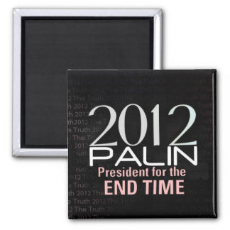 Part Two of 2012 Palin End Time Magent Set Magnet