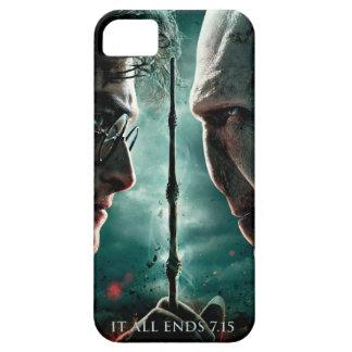 Parte 2 de Harry Potter 7 - Harry contra Voldemort iPhone 5 Fundas