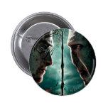 Parte 2 de Harry Potter 7 - Harry contra Voldemort Pin Redondo 5 Cm
