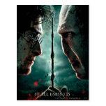 Parte 2 de Harry Potter 7 - Harry contra Voldemort Tarjetas Postales