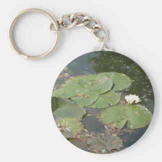 Parte 2 del amor del lirio de agua llaveros personalizados